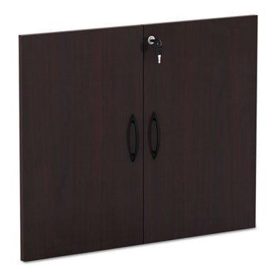 Alera VA632832MY Valencia Series Cabinet Door Kit for All Bookcases, 31 1/4-Inch Wide, Mahogany