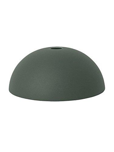 Ferm Living Dome lampenkap, donkergroen