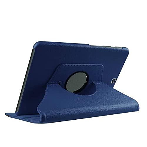 LIUCHEN Funda de tableta360 Soporte Giratorio Funda para Tableta para Samsung Galaxy Tab S2 9.7 Pulgadas Cubierta T810 T813 T815 T819 SM-T810 T813 T815 Cuero, Azul Oscuro