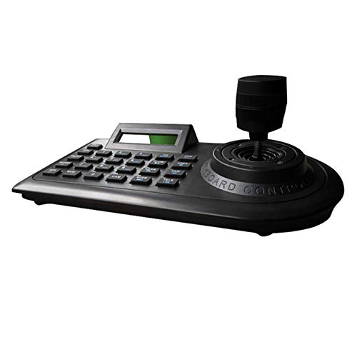 Haude 4D 4 Axis Ptz Joystick Ptz Controller Keyboard Rs485 Pelco-D/P con Display LCD per Sicurezza Analogica CCTV Speed ??Dome Ptz Camera (Spina Europea)