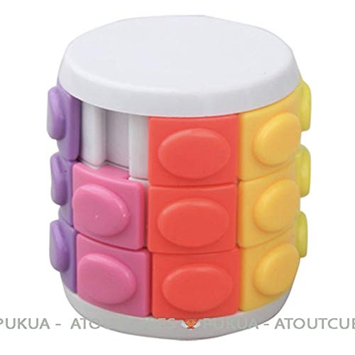 R.Y.Toys Tour Magique Rotate and Slide X-Cube Magic Cube Atoutcubes, Blanc, 3 étages