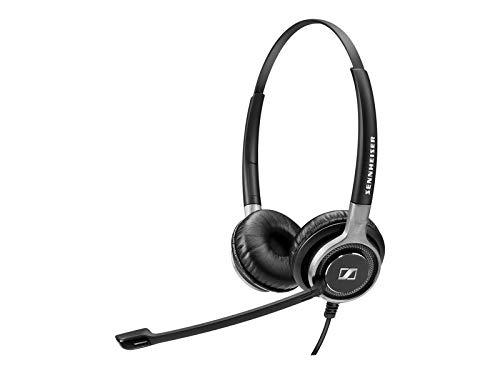 Sennheiser SC 660, beidseitiges Premium-Headset, schwarz/silberfarben