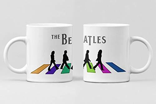 Desconocido Taza The Beatles. Taza cerámica de café Beatles