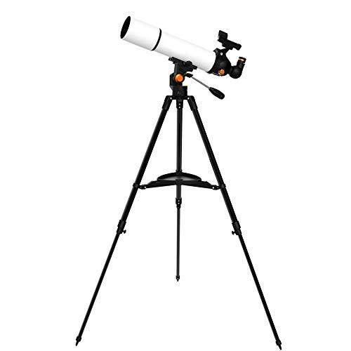 Kangdu88 HD visión Nocturna monocular telescopio astronómico adecuados para los niños, Adultos, Principiantes, con 500 mm Distancia Focal, Zenith Espejo 90 °, Recorrido al Aire Libre