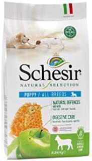Schesir Natural Selection Dry Puppy Lamb 490 g