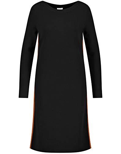 Gerry Weber Damen Kleid aus feinem Strick figurumspielend Schwarz 36