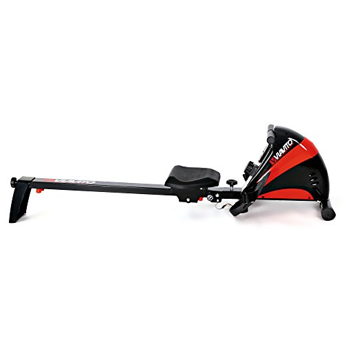 Viavito Sumi Folding Rowing Machine - Black