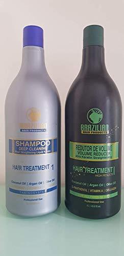 BHP Afro Brazilian Queratina y Champu 2 Litros (Champú y Keratina)