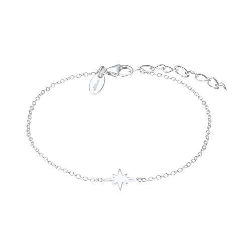 s.Oliver Armband für Damen, Sterling Silber 925, Stern