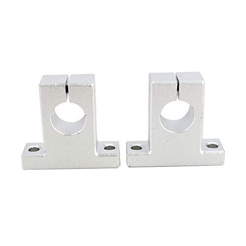 Lineare optische Achshalterung, reibungsarme Aluminiumlegierung Genaue Doppelkabel-CNC-Achse, Genauigkeit Ausführungsstangen für Messgeräte Elektronische Geräte