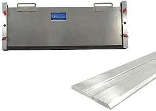 2 in 1 Bundle - Outside Mount Door Flood Barrier Shield (5127MA) + Door Flood Barrier Threshold (319MA), Size: (10'' x 36'')