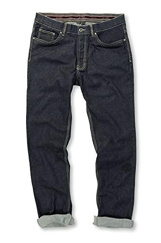 Jeans, Denim-Hose im 5-Pocket-Style, Stretch-Komfort, elastischer Bund & Regular Fit darkblue 60 708067 93-60