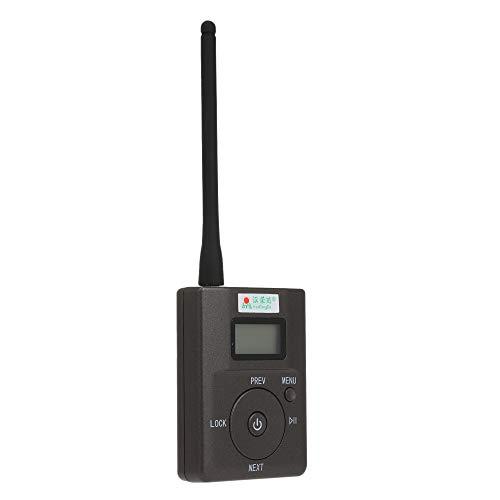 Docooler HanRongDa HDR-831 Transmisor FM Digital estéreo portátil Mini estación de Radio FM Transmisión con micrófono Audio Lanzamiento 500 Metros Ranura de Tarjeta TF Entrada de micrófono AUX IN