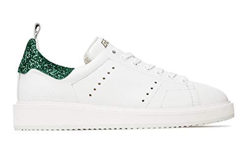 Golden Goose Zapatillas de deporte para hombre, transpirables, informales, deportivas, para caminar, color Verde, talla 38 2/3 EU