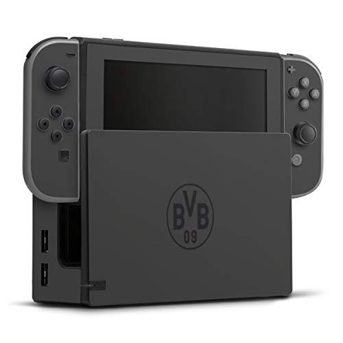 DeinDesign Skin kompatibel mit Nintendo Switch Folie Sticker Borussia Dortmund Logo BVB
