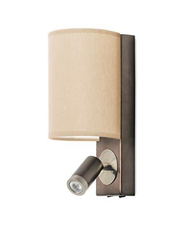LEDS-C4 Buc Applique murale Buc LED 6,9/2,2W, bronze/patine
