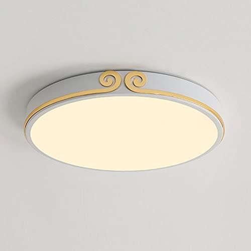 CSSYKV Lámpara De Techo Minimalista Moderna Diseño Creativo Lámpara De Techo LED Ultrafina Lámpara De Montaje Empotrada En El Techo Interior Regulable Dormitorio Balcón Luz con Control Remoto