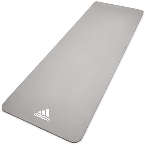 adidas, Yoga Mat-8mm-Grey Unisex-Adult, Grigio