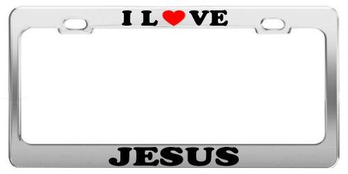 Love Jesus License Plate - 3