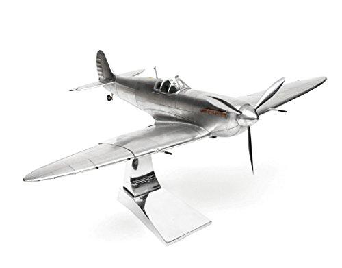 Brillibrum modelvliegtuig supermarine Spitfire Plus standaard detailgetrouw metaal groot vliegtuig bouwpakket indoor geschenken cadeau-idee
