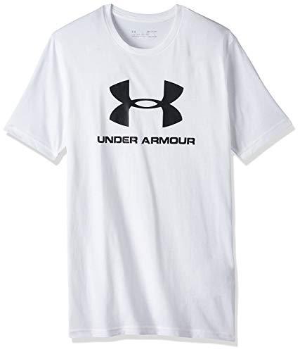 Under Armour Sportstyle - Maglietta a Maniche Corte con Logo