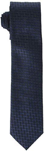 HUGO Mens Tie cm 6 Necktie, Dark Blue (405), ONESI