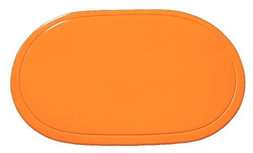 Saleen Tischset, Vinyl, Orange, L