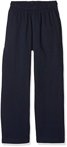 Fruit of the Loom Jungen Lightweight Open Hem Jog Pants Kids Sporthose, Blau (Deep Navy 202), 140 (Herstellergröße: 9-11)