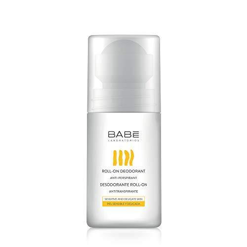 Laboratorios Babé - Desodorante Roll-On 50 ml, Acción 24 Horas, Antitranspirante, Unisex, Antimanchas, Evita la Sequedad, Calmante, Combate el Olor Corporal