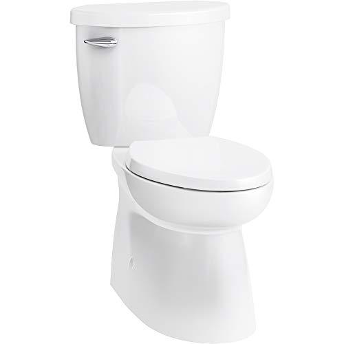 Sterling 402095-CS-0 Brella Skirted Elongated 2PC Brevia Toilet Seat, White