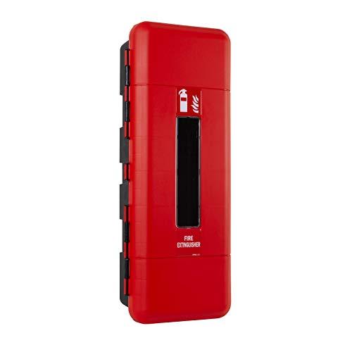 Firechief fclsc kast, enkele brandblusser, groot, rood