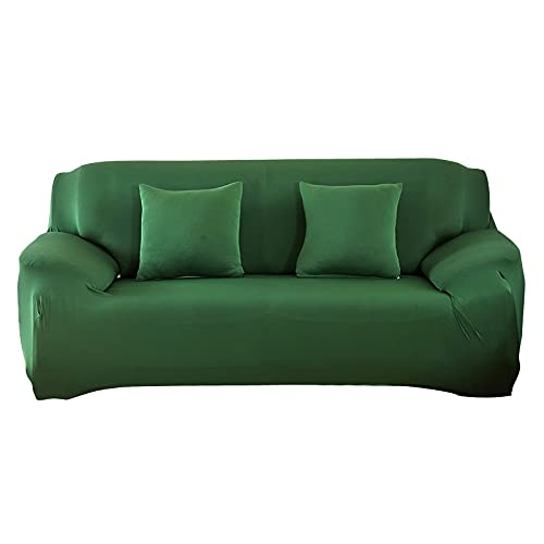 WXQY Fundas elásticas de Color sólido Funda de sofá Antideslizante elástica Funda de sofá para Mascotas Esquina en Forma de L Funda de sofá Antideslizante A11 1 Plaza