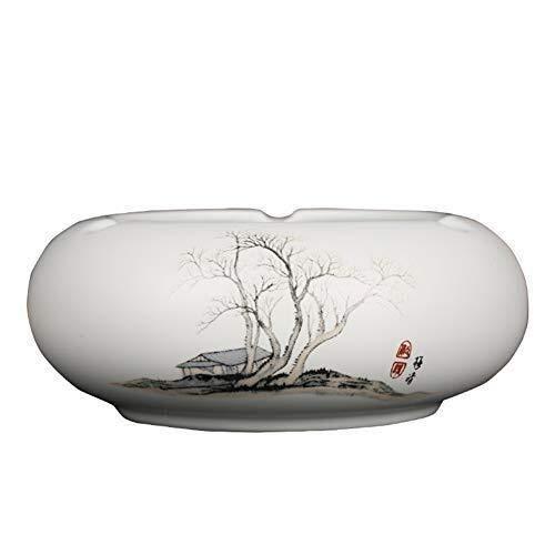 Asbak retro landschap Chinese stijl schilderij geschenk klassiek handwerk woonkamer salontafel kantoor rookcilinder
