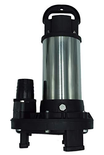 Patriot Piranha 4,200 GPH Direct Drive Submersible Pump – Up to 4,200 GPH Max Flow