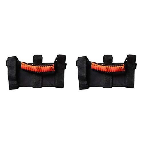WeiYang Roll Bar Agarra Grab Handles 3 Straps Handles Fit para Jeep Wrangler TJ CJ YJ JK JL
