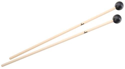 XDrum MG3 Xylophonschlägel Holz/Kunststoff (Lieferung im Paar, Länge: 37cm, Kopfdurchmesser: 2,5cm)
