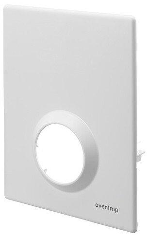Oventrop Abdeckplatte für Unibox RTL, T, Vario und plus Bautiefe 57 mm, weiß
