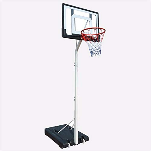 YOULAN Teens Basketball Stand Height Adjustable 210-260cm Adult Basketball Hoop with 2 Wheels Indoor Outdoor Shooting Frame The Best Choice for Basketball Fans