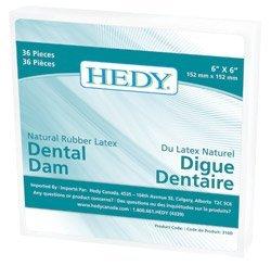 HED Latex Dental Dam 6