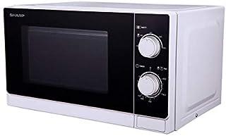 Sharp R-600WW Comptoir Micro-onde combiné 20L 800W Noir, Blanc micro-onde - Micro-ondes (Comptoir, Micro-onde combiné, 20 ...