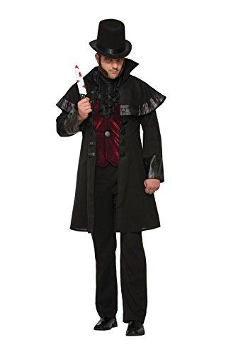 Forum 78646 Jack The Ripper Kostüm, Herren, Language_Tag:de_gb, Chest Size 42-44-Inch