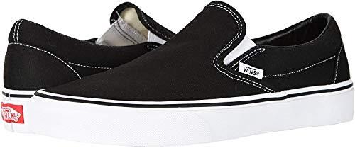 Vans, Classic Slip-On (Black/White - 13 W/11.5 M) US