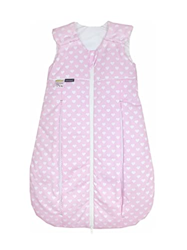 Odenwälder Prima Klima Thinsulate   Kinderschlafsack ärmellos   leichter Schlafsack für Jungen und Mädchen   Baby-Schlafsack atmungsaktiv