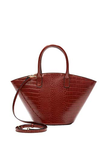 s.Oliver (Bags Damen Shopper, 3856 Burned Cognac, 1