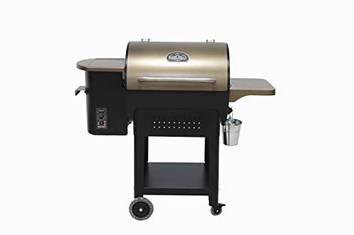 Ozark Grills - the Stag Wood Pellet Grill and Smoker with 2...