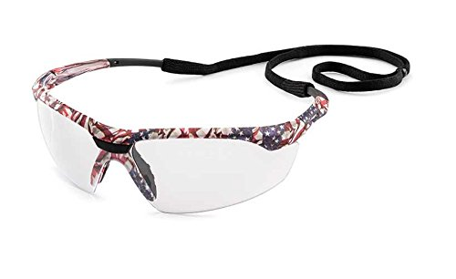 Gateway Old Glory Camo Patriotic Safety Glasses with Clear Lens