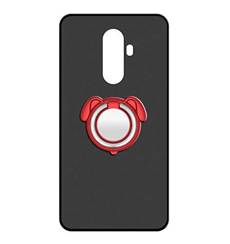 Sunrive Für WileyFox Swift 2/2 Plus Hülle Silikon, 360°drehbarer Ständer Ring Fingerhalter Fingerhalterung Handyhülle matt Schutzhülle Etui Hülle (Farbe rot)+Gratis Universal Eingabestift MEHRWEG