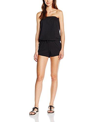 Urban Classics Damen Ladies Hot Jumpsuits, Schwarz (black 7), X-Large