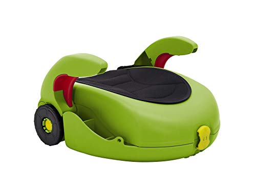 CarGoSeat – Booster Seat and pull along luggage case for kids going places – 4 colours to choose from (Green)
