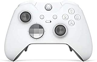 White Edition Rapid Fire Custom Modded Controller Compatible with Xbox One Elite 40 Mods for All Major Shooter Games, Quick Scope, Auto Run, Sniper Breath, Jump Shot, Active Reload & More